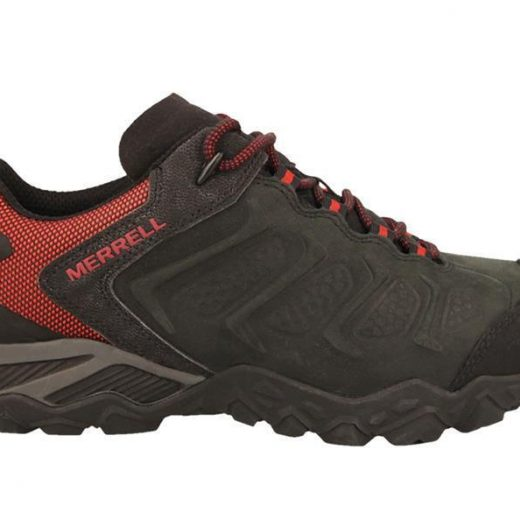 Merrell Chameleon Shift Hiking Shoes in Black & Red J64983